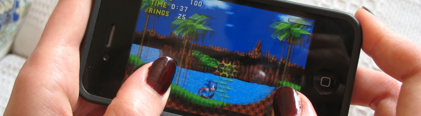 Sonic the Hedgehog iPhone app